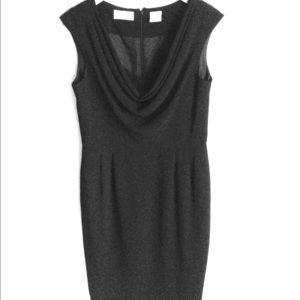 Liz Claiborne Draped Front LB Dress Size 10 Petite